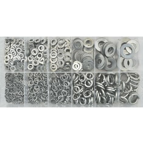 Senator Flat & Spring Washer Hardware Kit 790PC
