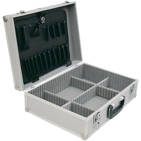 Senator Silver Aluminium Tool Case