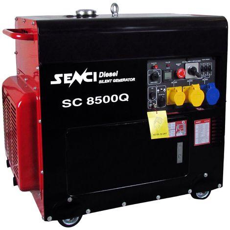Senci SC8500Q Silent Diesel Generator