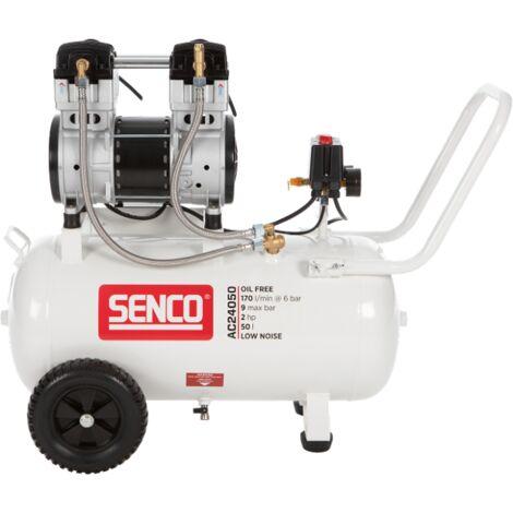 Senco AC24050 Compresseur - Silencieux - SENCO - 1500W - 9 bar - 50L - 240L/m - AFN0033