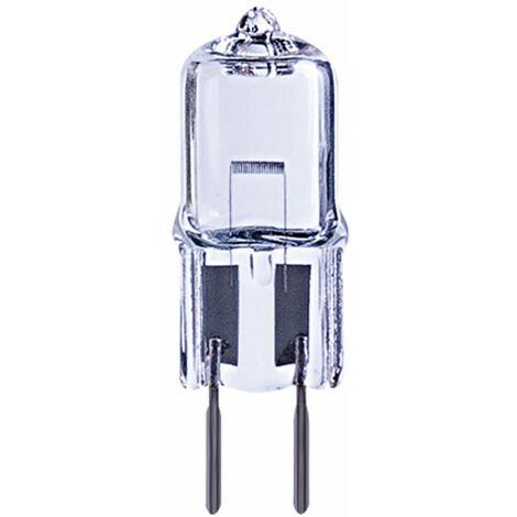 Sencys - 50W bombilla halógena cápsula GY6.35 2 PC