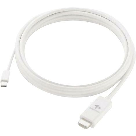 SendStation câble de raccordement DisplayPort/HDMI blanc 3 m D05441