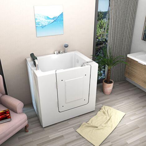 Senioren Sitzbadewanne Seniorenbadewanne Sitzwanne Badewanne mit Tür Pool A102