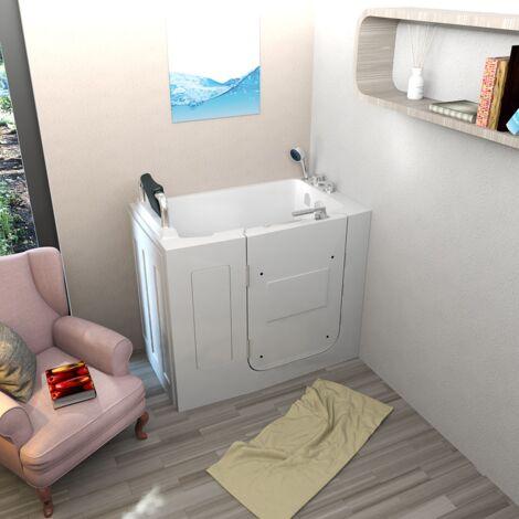 Senioren Sitzbadewanne Seniorenbadewanne Sitzwanne Badewanne mit Tür Pool A108-C