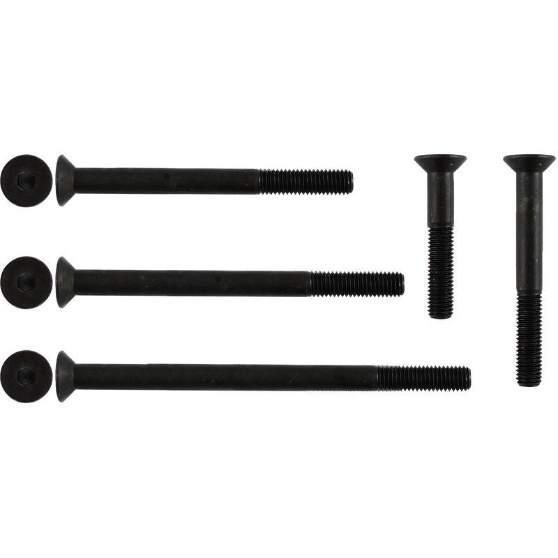 5 Stk Sechskantschraube DIN 933 8.8 M5 x 40