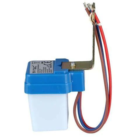 Sensor crepuscular para luminarias led