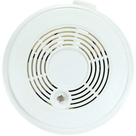 Sensor de gas CO inalambrico independiente, detector de humo, alarma de incendio