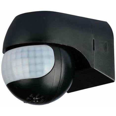 Sensor de infrarrojos (PIR) de pared 180º rotativo IP44