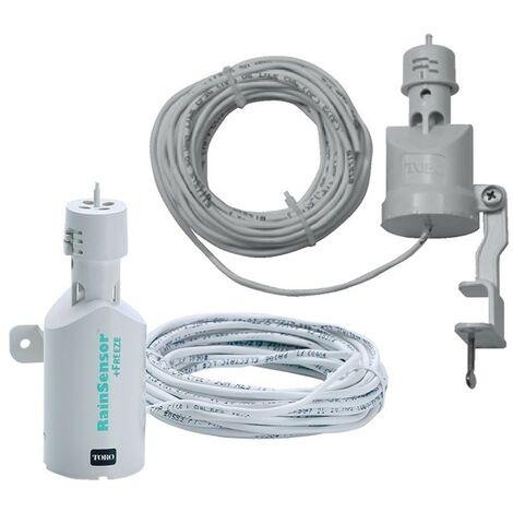 Sensor de lluvia con cable TRS para riego