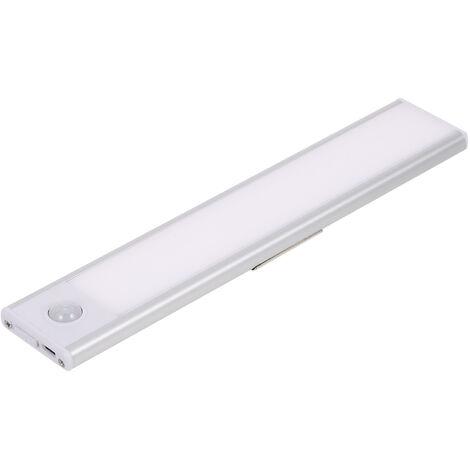 Sensor de luz LED para armario, luz de sensor recargable
