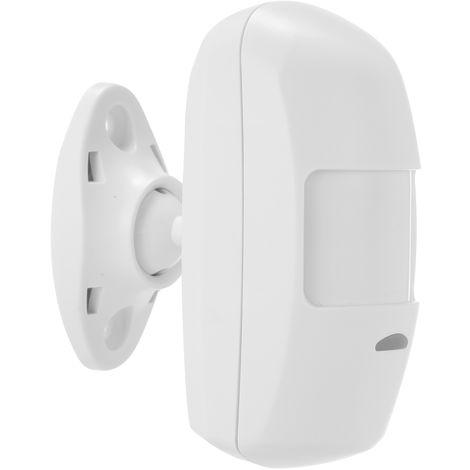 Sensor de movimiento de 433MHz PIR Detector infrarrojo pasivo para el hogar seguridad del ladron del sistema de alarma, sensor de movimiento PIR
