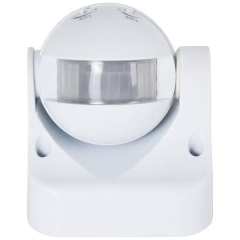 Sensor de movimiento PIR orientable de superficie 180º IP44