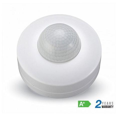 Sensor de movimiento por infrarrojos 360° Blanco