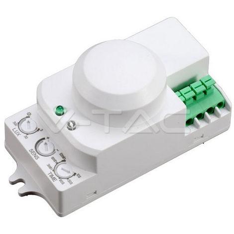 Sensor de movimiento por microondas 360°. Carga máxima 300W