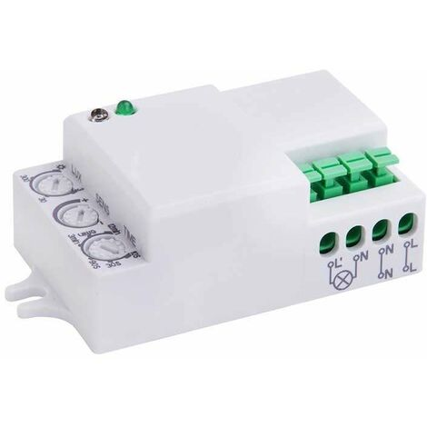 Sensor de movimiento por microondas