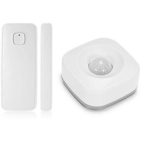 Sensor de movimiento WIR PIR, sensor de alarma antirrobo y sensor de puerta WIFI