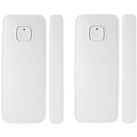 Sensor de puerta WIFI, control de aplicaciones, alarma de apertura de ventana de puerta, 1 piezas