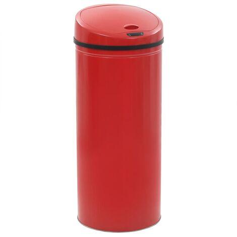 Sensor Dustbin 62 L Red
