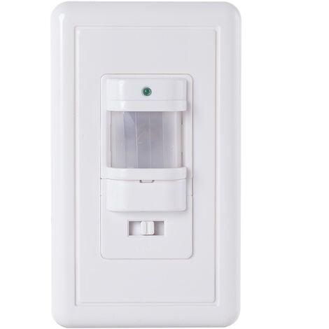 Sensor Movimiento Empotrar 160º ►600W/200W (SB-BS031B)