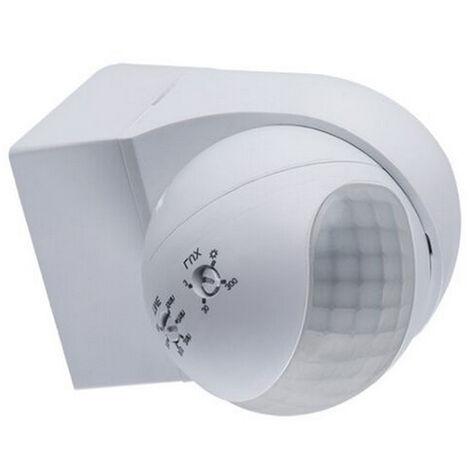 Sensore Accensione Lampade Con Crepuscolare.Sensore Movimento Infrarossi Pir Crepuscolare Rileva Presenza Luci Lampade Faro
