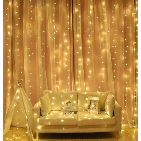 Sentik LED Curtain Light 300 Lights