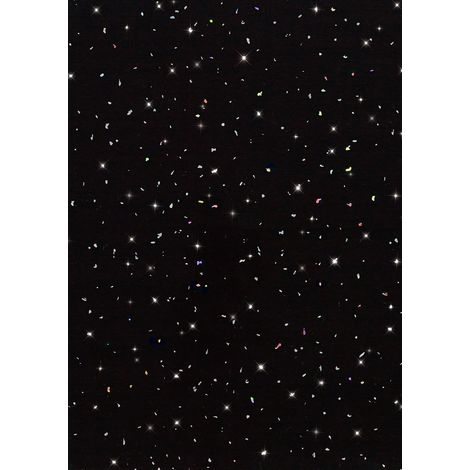 Sentul PVC Panel Gloss Black Spot Galaxy 2700mm X 250mm x 5mm (Pack Of 4)