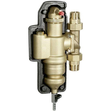 Séparateur de boues et d'air HF49 - DN25 - Débit d'eau 3,6 m3 /h