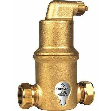 Separateur de microbulles d'air Spirovent air bague de serrage 22 mm