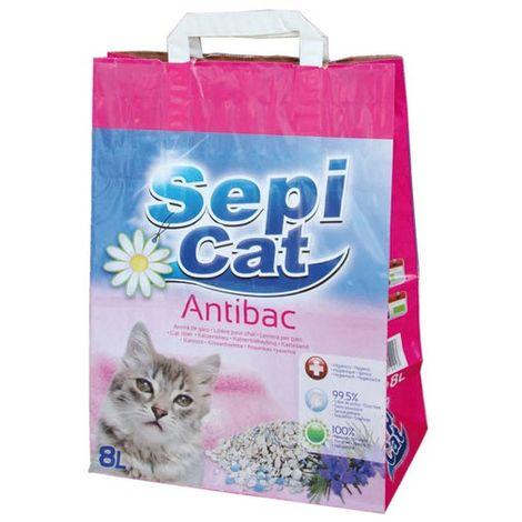 Chat L Sepicat Et Pour Parfumée Antibactérienne Litière 8 Pkw0OX8n