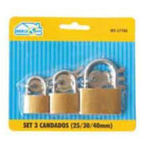 Septembre 3 cadenas   Securite a la maison Cadenas   Les etapes 25, 30 et 40 mm