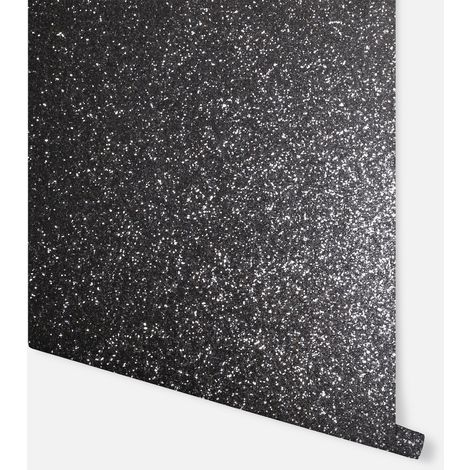 Sequin Sparkle Black Wallpaper - Arthouse - 900901