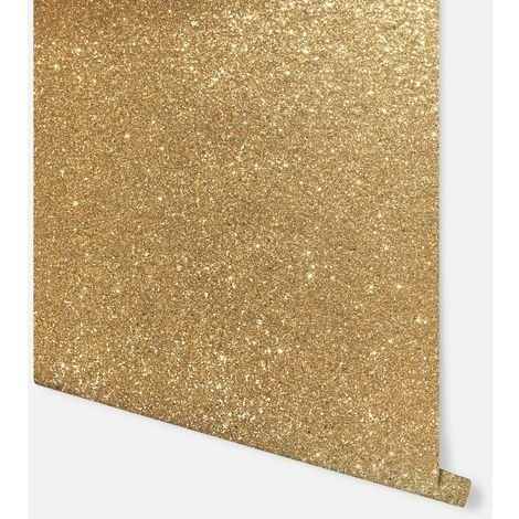 Sequin Sparkle Gold Wallpaper - Arthouse - 900902