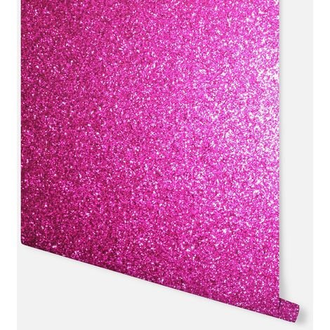Sequin Sparkle Hot Pink Wallpaper - Arthouse - 900903