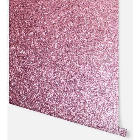 Sequin Sparkle Pink Wallpaper - Arthouse - 900904