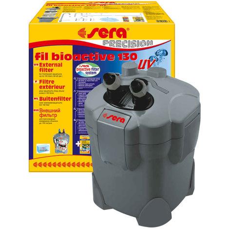 Sera - Filtre Extérieur Fil Bioactive 130 UV jusqu'à 130L pour Aquarium d'Eau Douce