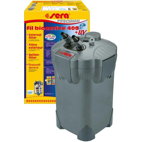 Sera - Filtre Extérieur Fil Bioactive 400 UV jusqu'à 400L pour Aquarium d'Eau Douce