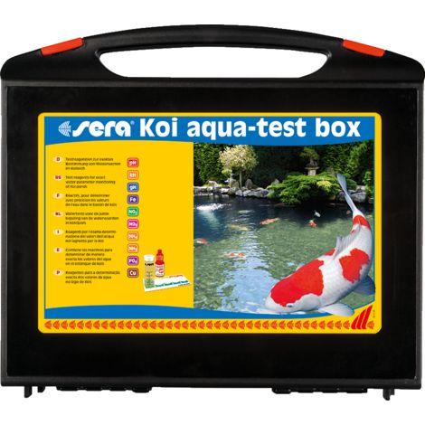 sera Koi aqua-test box Gartenteich