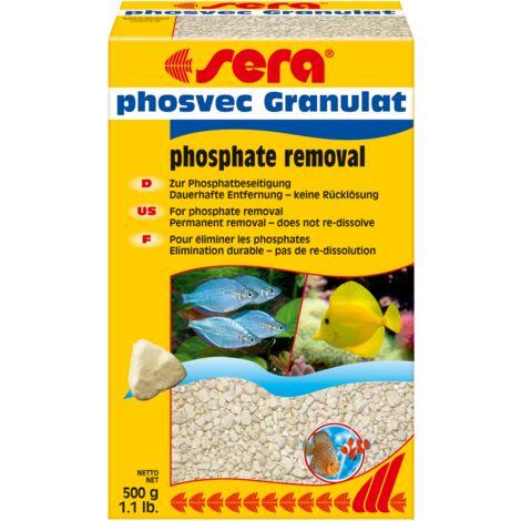 sera phosvec Granulat 500 g Filtermedium