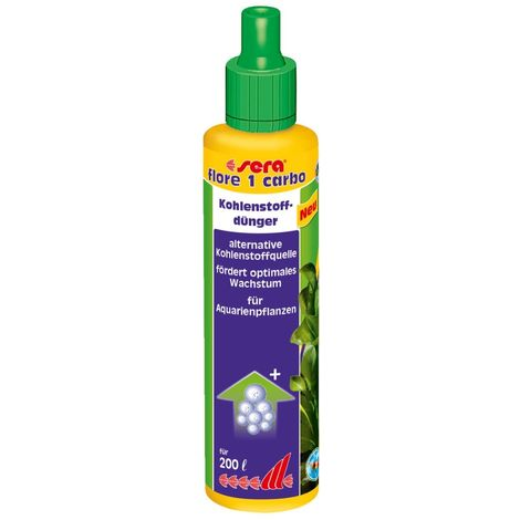 Sera - Soin Source de Carbone Flore 1 Carbo pour Plantes d'Aquarium - 250ml
