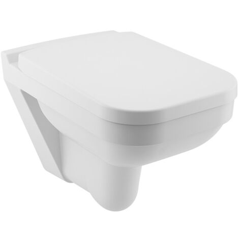 SEREL cuvette WC suspendu rimless Star + abattant (SA26)