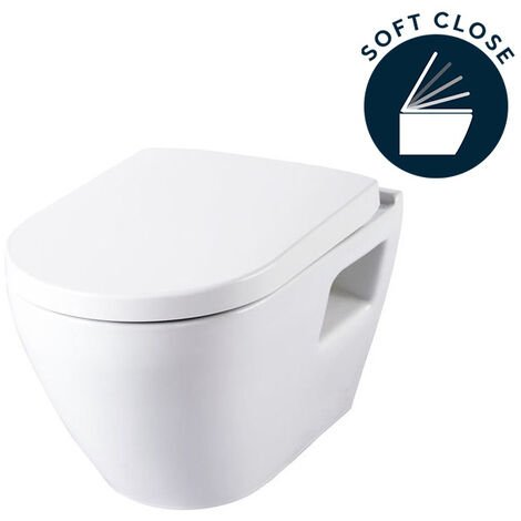 Serel SM10 SEREL Smart Wall Hung WC Pan + soft close seat (SM10)