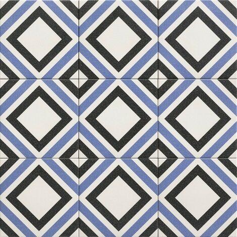 Série Belfast blu 20x20 (carton de 1,00 m2)