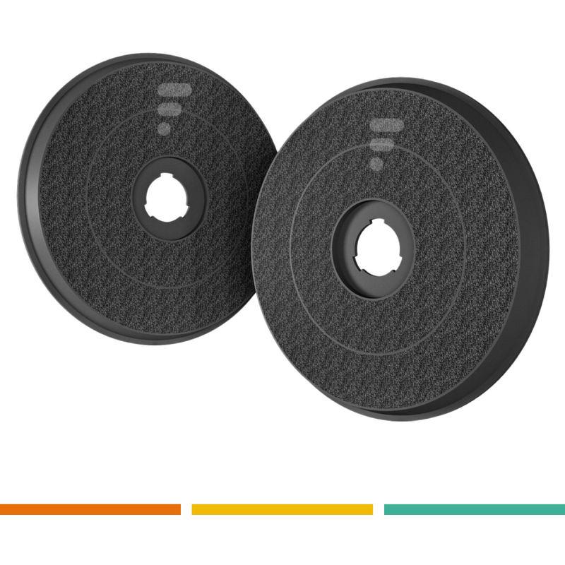 Série de filtres à charbon actif standard EFF58 2 filtres - Electrolux