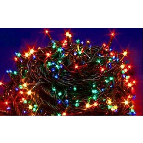 Serie de Luces de Navidad Wimex 180 MILLELUCI LED Multicolor 4501995X