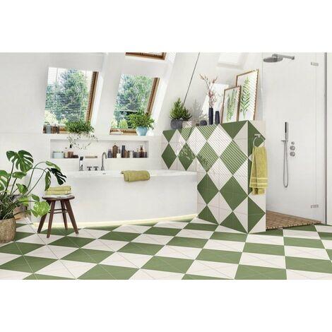 Série Fired Middle Green 20x20 (carton de 1,00 m2)
