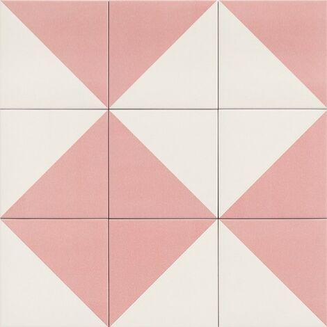 Série Fired Middle Pink 20x20 (carton de 1,00 m2)