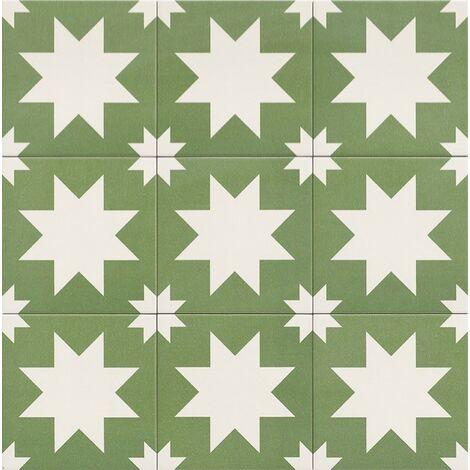 Série Fired Star Green 20x20 (carton de 1,00 m2)