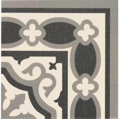 Série Florentine white 20x20 angle