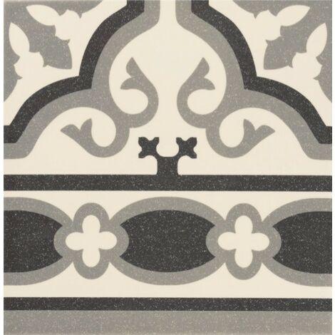 Série Florentine white 20x20 frise (carton 1,00 m²)