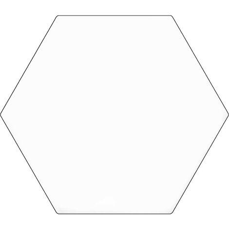 Série Hexagonal Britain White 20x24 (carton de 0,98 m2)